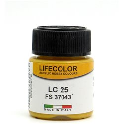 LifeColor LC25 Or Mat – Matt Gold FS37043 - 22ml