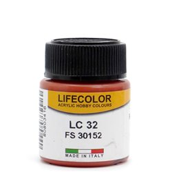 LifeColor LC32 Rouille 1 Mat – Matt Rust 1 - 22ml