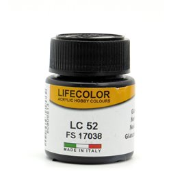 LifeColor LC52 Noir Brillant – Gloss Black FS17038 - 22ml