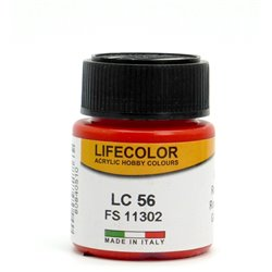 LifeColor LC56 Rouge Brillant – Gloss Red FS11302 - 22ml