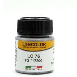 LifeColor LC76 Acier Canon Brillant – Gloss Gun Metal FS17200 - 22ml