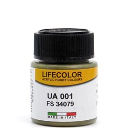 LifeColor UA001 Vert Foncé - Dark Green FS34079 - 22ml