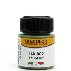 LifeColor UA002 Vert – Green FS34102 - 22ml