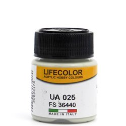 LifeColor UA025 Gris Mouette Clair – Light Gull Grey FS36440 - 22ml