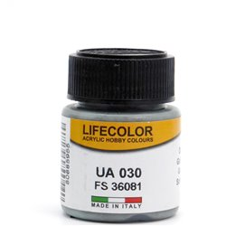 LifeColor UA030 Gris Foncé – Dark Grey FS36081 - 22ml