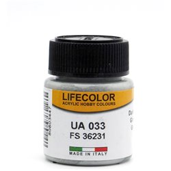 LifeColor UA033 Gris Mouette Foncé - Dark Gull Grey FS36231 - 22ml
