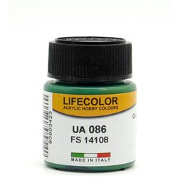 LifeColor UA086 Vert Intérieur – Interior Green FS14108 - 22ml