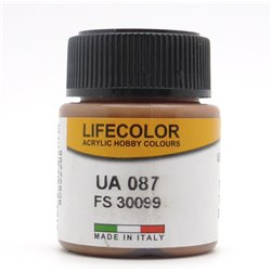 LifeColor UA087 US Tank Earth Brown FS30099 - 22ml