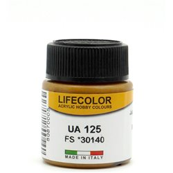 LifeColor UA125 Marron Moyen Japon – Japan Medium Brown A12 FS30140 - 22ml