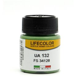 LifeColor UA132 Vert Clair – Light Green RLM FS34128 - 22ml