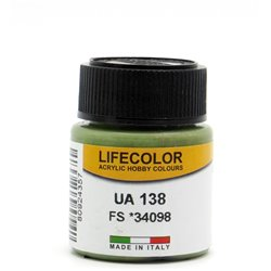 LifeColor UA138 Vert – Green RLM80VAR FS34098 - 22ml