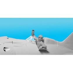 Kinetic KIN48054 1/48 Mirage IIID/DS Mirage IIIBE/D/DE/DS/D2Z