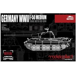 Modelcollect MA72002 1/72 Germany WWII E-50 Medium Tank with 88 Gun