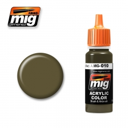 AMMO OF MIG A.MIG-010 Acrylic Color RAL 7028 DUNKELGELB (MID WAR) 17ml