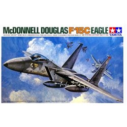 Tamiya 61029 1/48 McDonnell Douglas F-15C Eagle