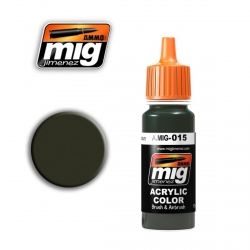 AMMO OF MIG A.MIG-015 Acrylic Color RAL 8017 SCHOKOBRAUN 17ml