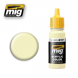 AMMO OF MIG A.MIG-017 Acrylic Color RAL 9001 CREMEWEISS 17ml