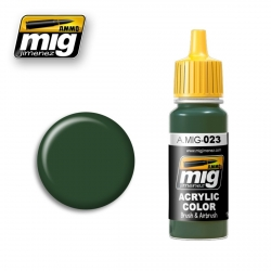 AMMO OF MIG A.MIG-023 Acrylic Color PROTECTIVE GREEN 17ml