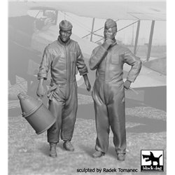 Black Dog F32021 1/32 RFC Mechanics 1914-1918 set
