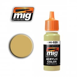 AMMO OF MIG A.MIG-029 Acrylic Color NEW IRAQUI ARMY SAND 17ml