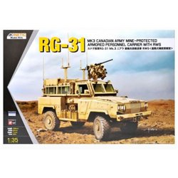 Kinetic K61010 1/35 RG-31 MK3 Canadian Army Mine-Protected Armored Personnel Carrier W/RWS