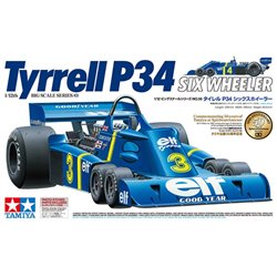 Tamiya 12036 1/12 Tyrrell P34 Six Wheeler - w/Photo Etched Parts