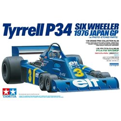 TAMIYA 20058 1/20 Tyrrell P34 Six Wheeler