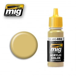 AMMO OF MIG A.MIG-055 Acrylic Color OIL OCHRE 17ml