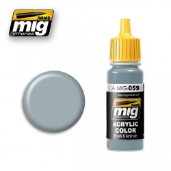 AMMO OF MIG A.MIG-059 Acrylic Color GREY 17ml