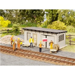 "NOCH 65611 HO 1/87 Scenery Set ""Track Construction"""