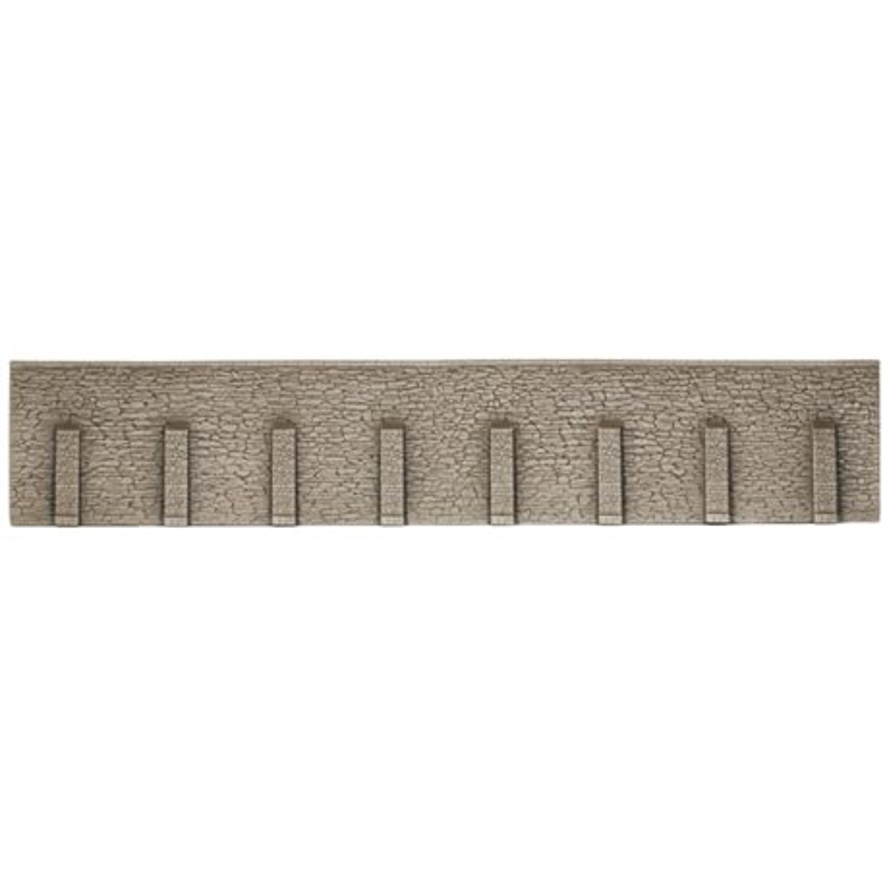 NOCH 58066 HO 1/87 Mur de soutènement, 33 x 12,5 cm