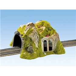 NOCH 02430 HO 1/87 Tunnel Droit, 2 Voies, 30 x 28 cm