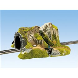 NOCH 02200 HO 1/87 Straight Tunnel, Single Track, 34 x 27 cm