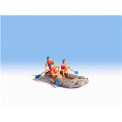 NOCH 16818 HO 1/87 Whitewater Rafting
