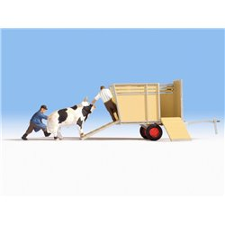 NOCH 16650 HO 1/87 Transport de boeufs