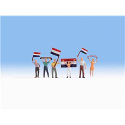 NOCH 15978 HO 1/87 Supporters néerlandais