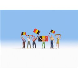 NOCH 15968 HO 1/87 Supporters belges