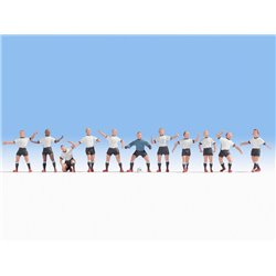NOCH 15965 HO 1/87 German Football Team