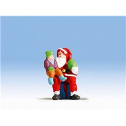 NOCH 1592003 HO 1/87 Santa Claus with Child
