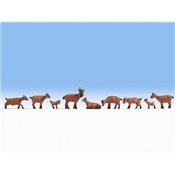 NOCH 15752 HO 1/87 Chèvres