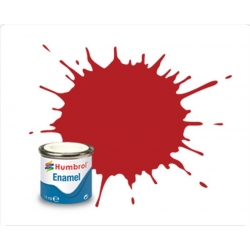 HUMBROL Peinture Enamel 153 INSIGNIA RED 14ml MATT