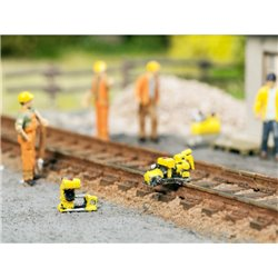 NOCH 13640 HO 1/87Set de travaux de rails