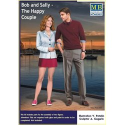 MasterBox MB24029 1/24 Bob and Sally - The Happy Couple