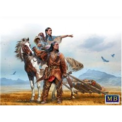 MasterBox MB35189 1/35 Indian Wars Series. On the Great Plains