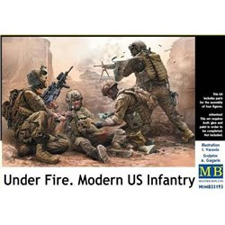 """MasterBox MB35193 1/35 Modern US Infantry. """"Under Fire"""""""