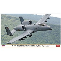 "HASEGAWA 02216 1/72 A-10C Thunderbolt II ""104th Fighter Squadron"" Limited Edition"