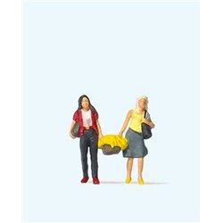 Preiser 28200 HO 1/87 Femmes Shopping – Shopping Team