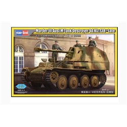 Hobby Boss 80168 1/35 Marder III Ausf.M Tank Destroyer Sd.Kfz.138 – Late