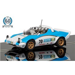 Scalextric C3827A 60TH Anniversary 1970S Lancia Stratos Limited Edition