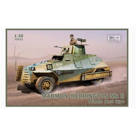 IBG Models 35022 1/35 Marmon-Herrington Mk.II Middle East type